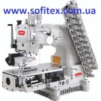 BRUCE 009VCDI-12064P/PR 12-игольная швейная машина цепного стежка со встроенным приводом