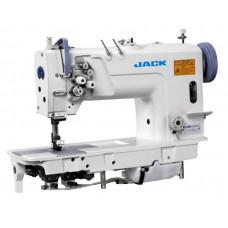 Jack JK-58720-005 Двухигольная промышленная швейная машина без отключения игл с увеличенными челноками
