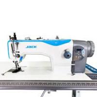 Jack JK-H2 - промышленная швейная машина для тяжелых материалов, с верхним и нижним транспортером и увеличенным челноком.