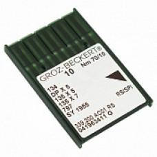 Игла Groz-Beckert 134, DPx5, 135x5 RS (SPI) с толстой колбой в упаковке 10 шт
